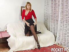 You need an experienced MILF to milk your cock