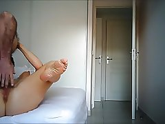 Mature Other Nurse wide open for hidden cam