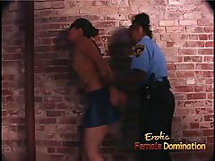 Smoking hot girl-on-girl interracial action featuring delici