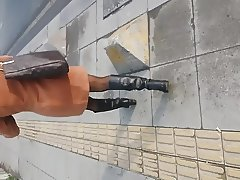 Sexy Boots And Legs Of Turkish Chick-2