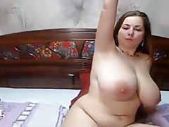 Beautiful Chubby with Perfect tits please herself
