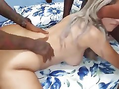 Blond 3 way with BBC