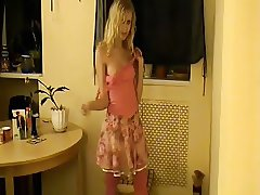 Hot Blonde Russian 18 Last from Yana on X-Hamster