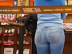 ASS AT DUNKIN DONUTS
