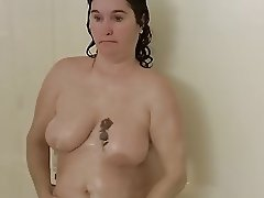 fucking myself in the shower