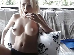 Absolutely Stunning Teen Masturbates