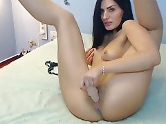 My Russian Friend Plays With Her Dildo