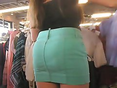 lovely candid asses at trift store