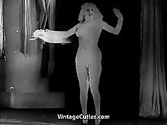 Chubby Ginger Doing Naughty Things (1930s Vintage)