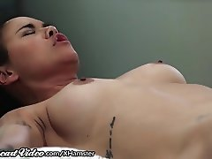 SweetHeart Young Redhead Facesits on Dana Vespoli!