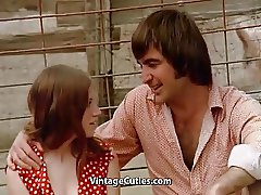 Hot Teen Sex in a Pig Paddock (1970s Vintage)