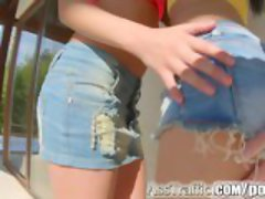 AssTraffic Anal threesome with 2 hot teen chicks