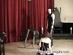 Empress-Empire.com - Gothic Slave Slut get whipped