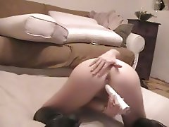 My wife fucked in her sweet ass doggystyle