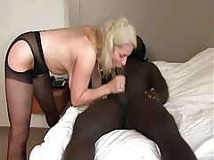 German GILF hammered by HUGE BLACK COCK