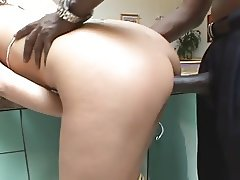 Busty Model Interracial Anal Fuck After Photo Shoot
