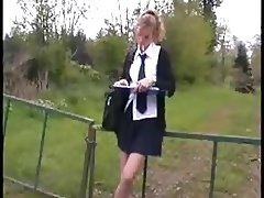 STP4 Schoolgirl Gets A Lift And Gets Well Fucked !