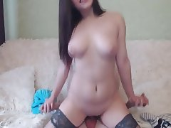 Brunette Babe Gets Her Pussy Fuck Hard And Deep