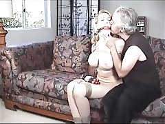 Busty blonde whore Kagney Linn Karter tied and gagged