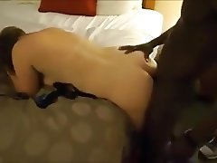 Cuck hubby fucks his wife after BBC bull
