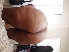 Ebony ass wink