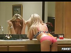 Blonde Babe doesn't know she is being watched