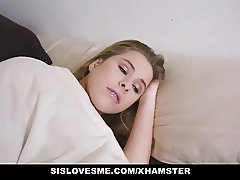 SisLovesMe - Cute Blonde Step-Sis Obsessed with Fucking