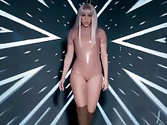 Shakira booty shake in latex