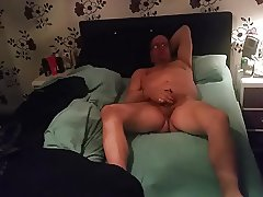 Pulling my cock