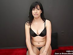Awkward Sexy Latina In Her First Porno Gets Facials