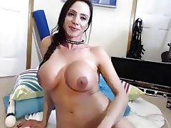 Ari ella Ferrera blowjob and titfuck