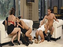 Anjelica Group Sex Movie