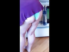 SPYCAM TEEN UPSKIRT WITH THONG 12