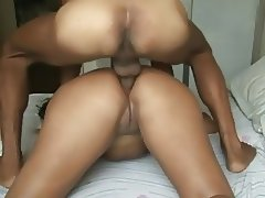 Brazilian Woman With Big Booty Tries Anal Sex