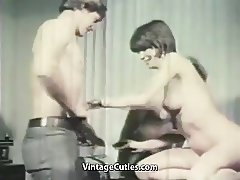 New Employee in the Office for Fucking (1960s Vintage)