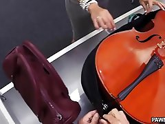 Sexy Brazilian Tries to Pawn a Cello - XXX Pawn