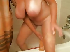 Mature Take a Shower