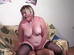 Hot milf and her younger lover 807