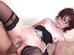 Hot milf and her younger lover 808