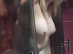 Wife fucked in the shower