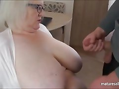 cumming on my tits