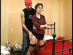 Hot milf and her younger lover 816