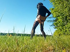 Sissi outdoors