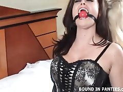 We are totally bound and gagged together