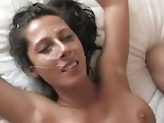 Teen gets first Casting Facial