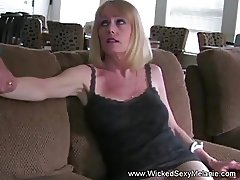 Dildo MILF Blowjob Mommy
