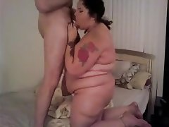 Puerto-Rican BBW Homemade Fuck Session