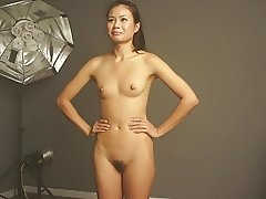 Asian ModelJenna does a video shoot