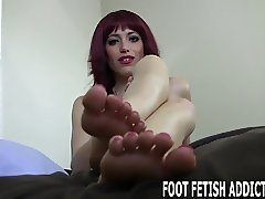 Beg and I will let you worship these perfect feet of mine
