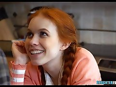 Petite Redhead Teen Daughter